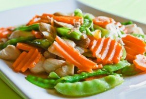 Shrimp Veggie Stir-Fry