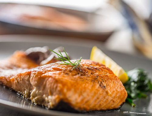 Grilled teriyaki/ginger Wild Sockeye Salmon